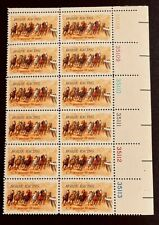 US Stamps, Scott #1528 10c 1974 Plate Block of 12 XF/Superb M/NH PO Fresh