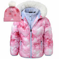 Snozu Girls' Kids Jacket w/ Hat - PINK (Select Size: 2T-6) * FAST SHIPPING *