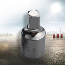 New 8mm Square Oil Sump Drain Plug Key Tool Remover Fit Renault Citroen Peugeot