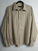 Men's Ben Sherman Long Sleeve Floral Shirt Size XL