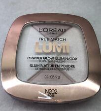 L'Oreal True Match Lumi Powder Glowing Illuminator Blush & Highlight N202 Rose