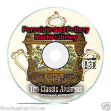 89 Books, Library on Pottery & Porcelain, Marks, Asian, Oriental How to DVD, B60