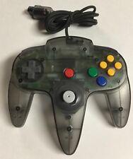 Original OEM Nintendo 64 N64 SMOKE Controller Tight Stick Clean Tested Gray