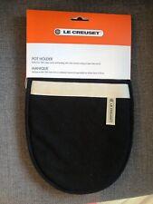 Le Creuset Textiles Pot Holder Oven Glove - Black