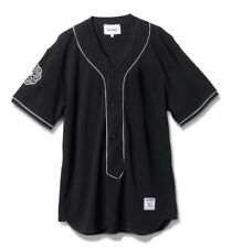 Diamond Supply Co piragua Béisbol Jersey-Totalmente Nuevo-Small-negro