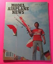 MODEL AIRPLANE NEWS MAGAZINE OCT/1977...SUNSPOT: 1/2 A STUNT PLANES..DUB'L DART
