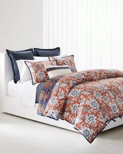 RALPH LAUREN Home Tessa  Floral 3-PC King Comforter Set Vermillon Multi $500.00