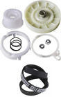 W10721967 + W10006384 Washer Pulley Clutch Kit with Belt For Whirlpool   photo