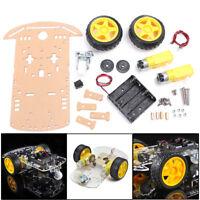 Smart Robot Car Chassis Set Kit/Speed Encoder Battery Box Arduino Gear Motor HF