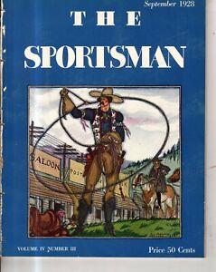 1928 Sportsman - September - China Fighting Crickets; Steeplechasing; Sailing