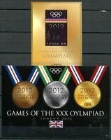 Tuvalu 2012 Olympiade London Olympics Olympische Spiele 1830-1832 Block 187 MNH