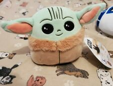 "Squishmallow Disney Star Wars Plush 5"" Mini Baby Yoda The Child New"