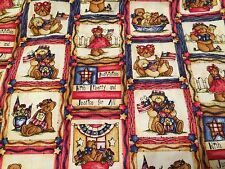 Patriotic Scrub Bears America USA Flag Liberty Medium Medical Tafford