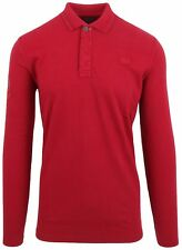 VAN SANTEN & VAN SANTEN Sweatshirt Shirt Polo Größe M 100% Baumwolle Rot Red NEU