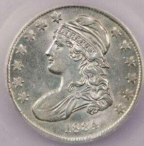 1834 Capped Bust Half Dollar ICG MS62 0-113