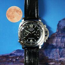 Panerai Luminor 1950 Rattrapante PAM00213 Chronograph Watch Full Set.