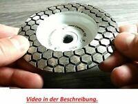 Disque Abrasif Diamant Coupe Roue 100mm M14 Dur Céramique Grain 100/120 Distar