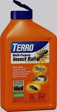 2 lbs *TERRO* Multi Insect Killer Bait Granules Roaches Earwigs Slugs Ants T2401