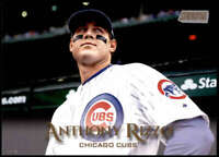 Anthony Rizzo 2019 Topps Stadium Club 5x7 Gold #100 /10 Cubs