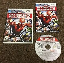 Marvel Ultimate Alliance 2 game for Nintendo Wii And Wii U Complete