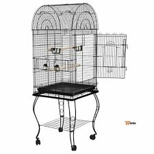 Large Iron Bird Cage 59� Play Top Parrot Pet Supplies With Door - Rsenio