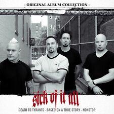 SICK OF IT ALL - ORIGINAL ALBUM COLLECTION BOX-SET 3 CD NEU
