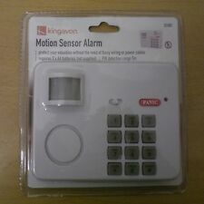 Wireless Alarm Security System Motion Sensor Simple Easy Fit Battery Stand Alone
