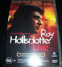 Roy Hollsdotter live (Australia Region 4) DVD - New