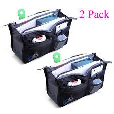 ($4.29/Count) 2 Pack Travel Insert Handbag Purse Large Liner Organizer Tidy Bags