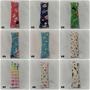 Handmade Catnip Fabric Cushion Kicker Toy, Multi Coloured/Vary Patterns