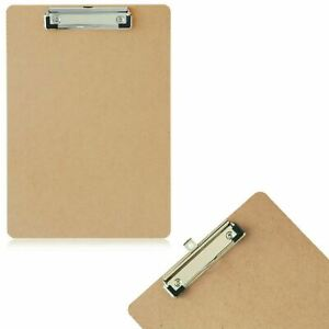 A4 & A5 Wooden Clipboard Hanging Hole Clip Board Writing Folder File Wall Office