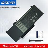 SKOWER 6MT4T Laptop Battery For Dell Latitude E5470 E5570 Precision 3510 Series