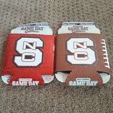 Lot of 2 - Nc State WolfPack Ncaa 12oz Can Koolie Koozie Cooler Coozie Game Day