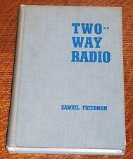 Two Way Radio by Samuel Freedman, 1st edition