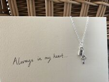 One Direction 1D Inspired Padlock and Key Charm Necklace Larry Stylinson AIMH