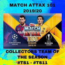 Match Attax 101 2019/20 19/20 Collectors Team of the Season #TS1 - #TS11