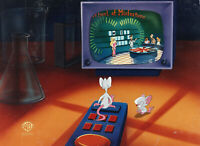 Animaniacs-Pinky + Brain-Original Production Cel-Win Big