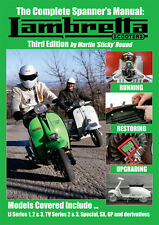 NEW - The Complete Spanner's Manual Lambretta Scooters  - 3rd Edition