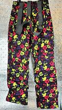 New Firefly Guenther AquaBase Elite Snowboad Ski Snow Pants Size Girls S Black