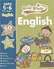 Stelle d'oro inglese KS1 5-6 (stelle d'oro Ks1 cartelle di lavoro), NUOVO, stelle d'oro libro