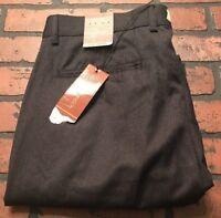 Michael Brandon Flat Front Striped Men's Dress Pants Size 36 x 30