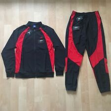 AIR JORDAN 1 WINGS JACKET AND PANTS TRACKSUIT SIZE L - BANNED SATIN BRED