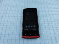 Nokia Asha 500 Schwarz-Rot! Wie neu! Ohne Simlock! TOP ZUSTAND! Einwandfrei!