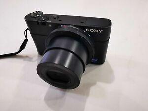 Sony Cyber-shot DSC-RX100 20.2 Mp Digital Compact Camera - Black
