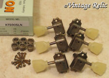 aged Kluson SUPREME 18:1 nickel tuners RELIC fit Gibson Les Paul 335 KTSD90SLN