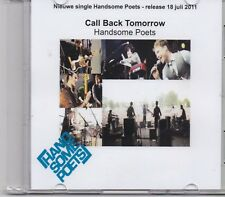 Handsome Poets-Call Back Tomorrow promo cd single