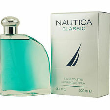 NAUTICA CLASSIC Men's Cologne 3.4oz 100ml EDT Large Size NR !!!