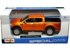 Maisto 31521 2019 Ford Ranger Pick Up Truck 1:27 Orange
