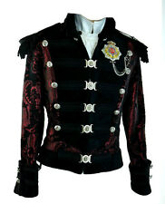 SHRINE NAPOLEON PIRAT GOTHIC JACKET MILITARY UNIFORM ROCK BAND GOTH STEAMPUNK M