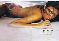 PUBLICITE ADVERTISING 115 2001 Christian Dior Dune eau de toilette (2 pages) 1